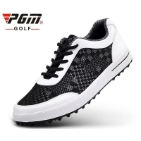 PGM Men Golf Shoes Lightweight Breathable Air Mesh Golf Shoes Men Anti-slip Outdoor Sneakers Men Sport Training Golf Shoes