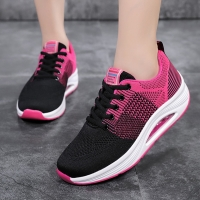 New Fashion Women Shoes Healthy Fitness Shoes Breathable Platform Sneakers Lose Weight Rocking Sport Shoes Women Swing Shoes