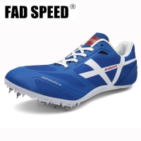 Men Track Field Shoes Women Spikes Sneakers Spike Running Sprint Shoes Lightweight Soft Comfortable Professional Athletic Shoes