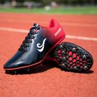 Man Track Field Shoes Lightweight Women Spikes Shoes Athlete Running Soft Tracking Shoes Spring Autumn Mens Spike Sneakers 35-45