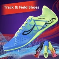 Track And Field Shoes For Children Spike Nail Shoes Student Boys Girls Running Sneakers Non-Slip Breathable Soft Sport Shoes