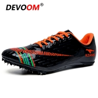 New Spike Running Shoes Men Women Track and Field Training Athletic Shoes Professional Track Race Jumping Shoes Sneakers Men 45