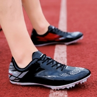 Unisex New Track Sports Running Shoes Spike Spikes Lightweight Men Women Professional Athletes Training Shoes Size 35-45