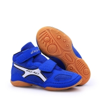 Outdoor Wrestling Shoes For Students Children Ultra-light Boxing Shoes Boys Girls Soft Oxford Sports Sneakers D0882
