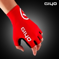 Giyo Cycle Half -finger Gloves Gel Sports Bicycle Race Gloves Bicycle Mtb Road Guantes Glove Cycling women Men's Mid -term
