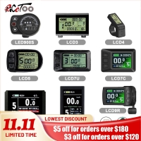 RICETOO Electric Bicycle KT Display LCD3/LCD3U/LCD4/LCD5/LCD6/LCD6U/LCD7U/LCD8H/LCD8S/LED880/LED900S 36V/48V/72V For E-bike