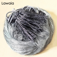 Lawaia 3-Layer Multifilament Gill Net Finland Fishnet Trap For Catch Fish 60mm 50mm 25mm Sticky Network Small Mesh