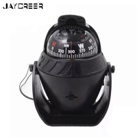 JayCreer 12V Boat Marine Compass For Evening Night Many Different Applications ,If None Stock Send Randon Color