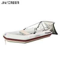 JayCreer Boat Sun Shade Shelter,Inflatables Boat Awning Top Cover Fishing Tent,Fits Width Of Boat From 1.0-1.4 Meter