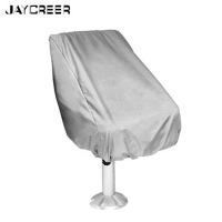 JayCreer Boat Seat Cover UV Resistant Helmsman Foldable Captain Chair Protection