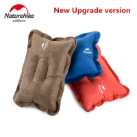 Naturehike Factory store upgraded suede material Inflatable Pillow for Hiking Backpacking Travel camping nap air pillows