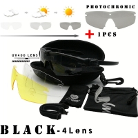 Tactical M 3.0 Strike Photochromic sunglasses Protection Military TR90 Frame Standard Issue Goggles UV400 Outdoor bike glasses