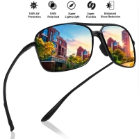 MAXJULI Classic Pilot Sunglasses Men Polarized Driving Sun glasses Male Cycling sports Goggles UV400 Hiking Eyewear Tr90 frame
