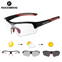 ROCKBROS Hiking Photochromic Airsoft Glasses Outdoor Sports Mount Climbing Sunglasses Goggles Men Bicycle Eyewear Myopia Frame
