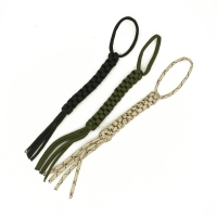 2Pcs/lot Outdoor Camping Corn Knot Nylon Chain Tool Ornaments Knife Pendant Falling Keychain DIY Tools 7strands Paracord Rope