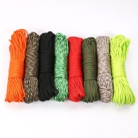 4 Size Paracord Dia.4mm 7 Stand Cores Parachute Cord Lanyard Outdoor Camping Tent Rope Hiking Climbing Survival Equipment