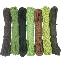 5mm Diameter 100FT Feet 31 Meters Mil Spec IV 750LB 7 Strands Parachute Cord Paracord Rope Cord