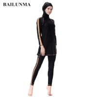 Muslim Swimsuits for Women Girls - Swimwear Swimming Costume Surfing Full Body Modest Islamic Modesty