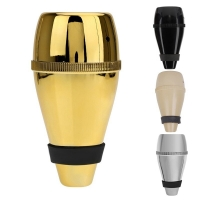 High Quality Light-weight Practice Trumpet Straight Mute Silencer Made of Good Plastic for Trumpets Instrument