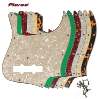 Pleroo Custom Guitar Parts - For MiJ Jazz Bass Made in Japan Guitar Pickguard Scratch Plate