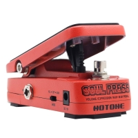 Hotone Soul Press 3 in 1 Active Volume & Analog Wah & Passive Expression Guitar effect Pedal SP-10