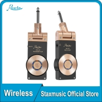 Rowin WS-20 Wireless Guitar System Transmitte Receive Digital Transmitter For Electric Guitar Bass Violin Connect Amp 100ft Tran