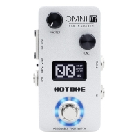 Hotone Omni IR Cab Impulse Response Cabinets Speaker Simulation Guitar Bass Effects Pedal OMP-6