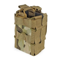 Molle System Magazine Pouch 1000D Nylon Double Layer Storage Bag Airsoft Tactical AK 7.62 M4 5.56 Rifle Hunting Accessories