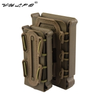 VULPO Military 5.56mm & 7.62mm Magazine Pouch Tactical Pistol 9mm Molle Magazine Pouch Hunting Mag pouch