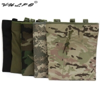 Tactical Mag Dump Pouch Airsoft Paintball Molle magazine Pouch Ammo Bags Hunting  Military Gear