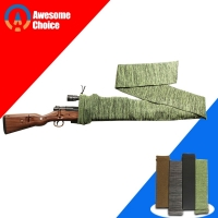 Silicone Treated Gun Sock Polyester Rifle Gun Shooting Fishing Rod Sock Protection Cover Bag Case Tactical Hunting Caza