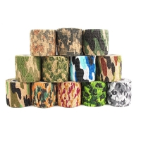 5cmx4.5m Hunting Tape Army Camo Outdoor Shooting Blind Wrap Camouflage Stealth Tapes Waterproof Camera Lens Wraps Accessories