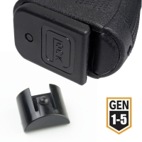 Grip Frame Insert Slug Plug for Glock 17 19 20 21 23 25 43X Pistol Gun Holster 9mm Mag Speed Loader Magazine Magwell Accessories