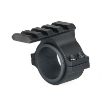 Tactial 25.4mm 30mm Scope Ring Barrel Flashlight Mount Adapter with 20mm weaver Picatinny Rail For Hunting