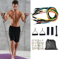 17Pcs/Set Latex Resistance Bands Yoga Pull Rope Expander Fitness Equipment Elastic Bands for Fitness Exercise Drop Shipping