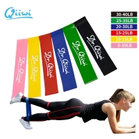 Dr.Qiiwi Resistance Elastic Loop Band Training Workout Rubber Bands for Sports Yoga Pilates Crossfit Stretching Fitness Body
