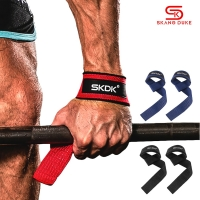 Gym Fitness Weight Lifting Hand Grips Bands Sport Dumbbell Training Wrist Support Ribbon Straps Barbell Pull Up