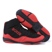 Men Breathable Boxing Wrestling Fighting Shoes Male High Top Training Boxing Fighting Boots Sports Sneakers D0880