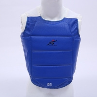 Karate Chest Protector Kids Adults Boxing Kicking Sanda Fighting Martial Arts Body Guard Training Vest Breast Protection Gear