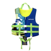 Children's professional life jacket snorkeling small vest belt cross belt protection life vest swimming safety swimsuit